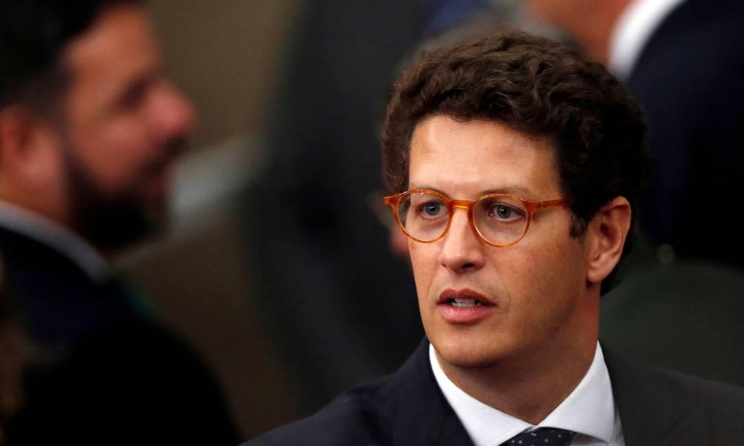 O ministro do Meio Ambiente, Ricardo Salles Foto: Adriano Machado/Reuters/10-12-2018