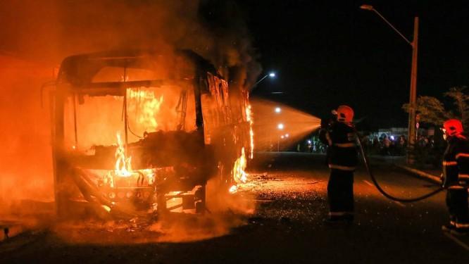 Ceará completou sete dias de ataques no estado Foto: João Dijorge/PHOTOPRESS / Agência O Globo