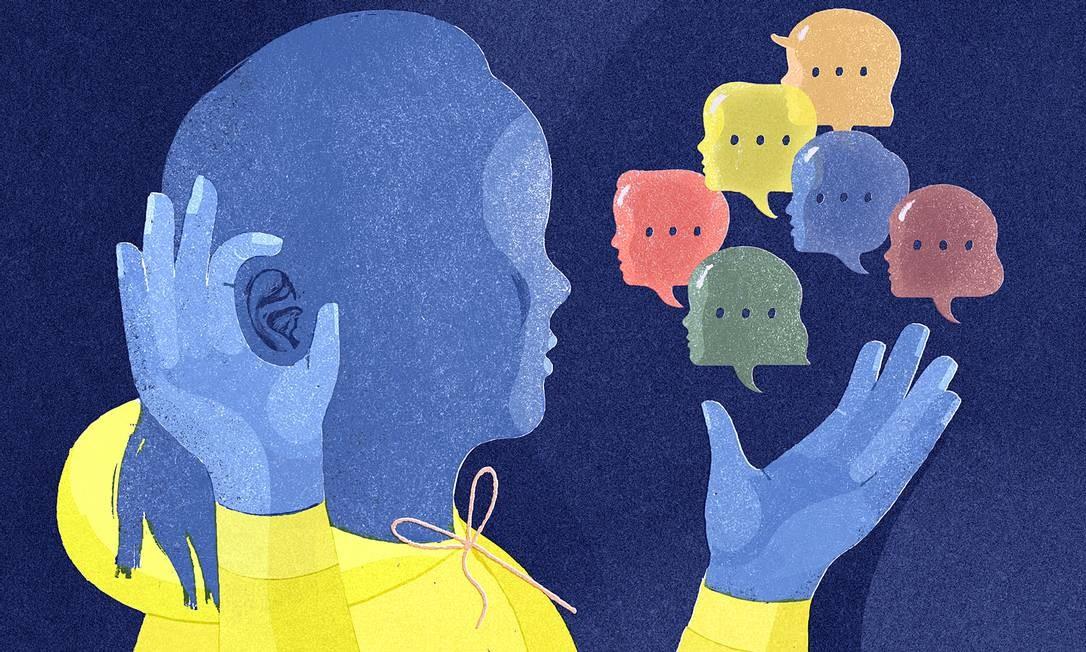 Pacientes costumam demorar para tratar a perda auditiva, o que pode levar a doenças mais graves Foto: GRACIA LAM / NYT