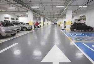 Estacionamento de shopping: perda ou extravio de tíquete não poderá mais ter cobrança de valor fixo Foto: Edilson Dantas - Agência O Globo