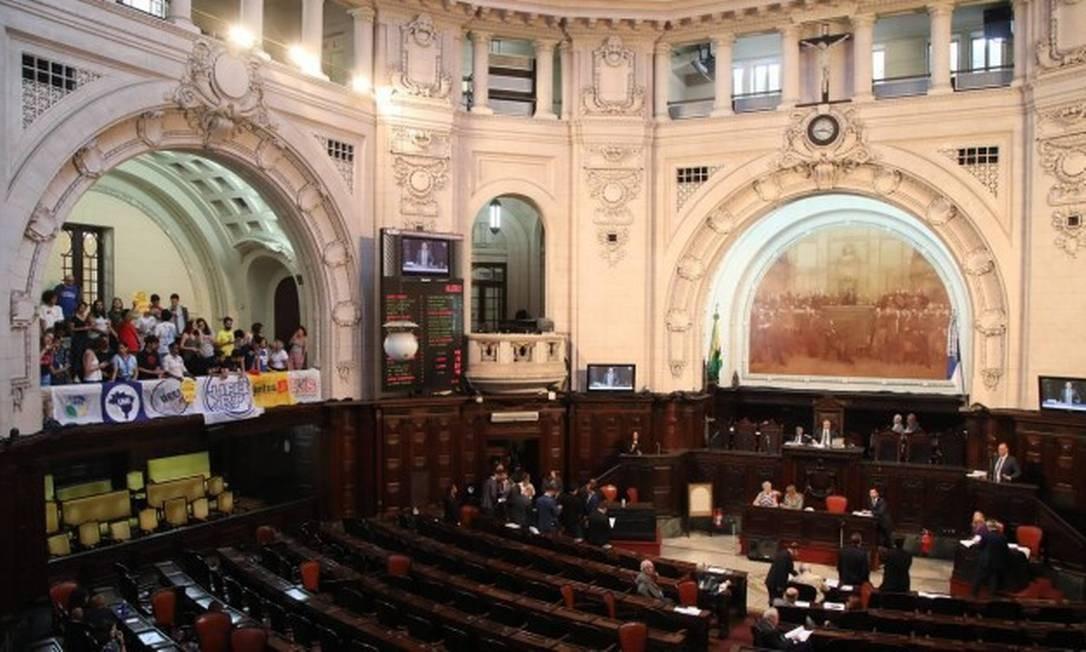 Alerj: disputa pelas principais comissões mobilizam PSOL e PSL Foto: Bárbara Lopes / Agência O Globo