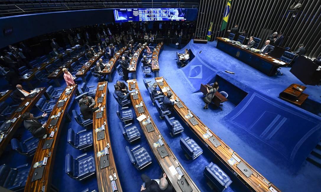 Senado: disputa acirrada Foto: Marcos Oliveira / Agência Senado