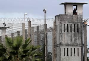 Complexo prisional de Itatinga, em Fortaleza, no Ceará Foto: PAULO WHITAKER / REUTERS