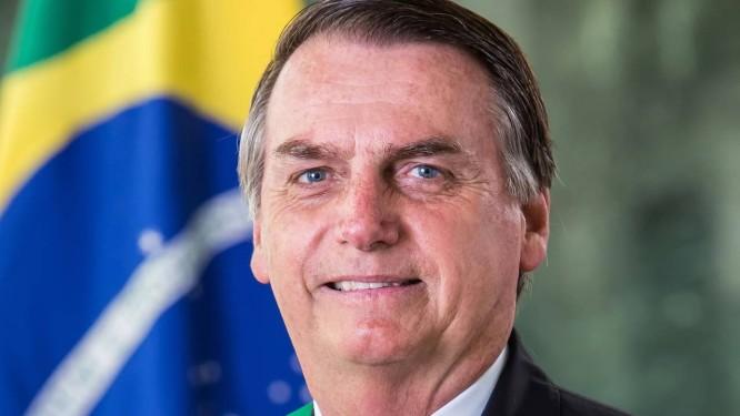 Foto oficial do presidente Jair Bolsonaro Foto: Alan Santos/Divulgação