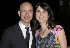 Ex-mulher de Jeff Bezos, presidente da Amazon, pode passar a frente da herdeira da L'Oréal, Françoise Bettencourt Meyers, dona de uma fortuna de US$ 45,6 bi Foto: Bloomberg