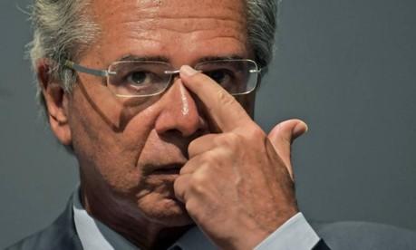 O ministro da Economia, Paulo Guedes Foto: Carl de Souza / AFP