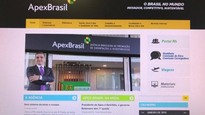 Alecxandro Carreiro ex-presidente da Apex Foto: Reprodução