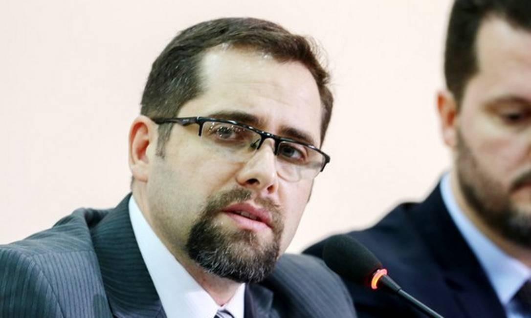 O delegado da Policia Federal, Eduardo Mauat da Silva Foto: Geraldo Bubniak / AGB/Folhapress