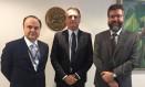 Mário Vilalva, Jair Bolsonaro e Ernesto Araújo Foto: Divulgação