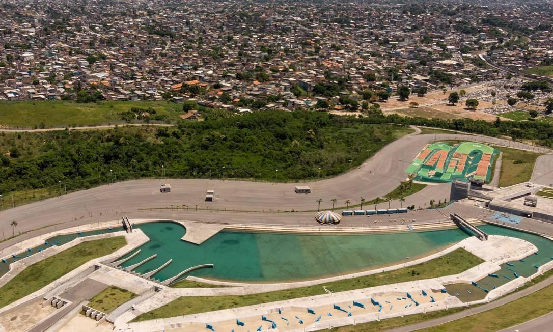 A má administração pela prefeitura mantém alguns lugares fechados por falta de verba. Na foto: Parque Radical de Deodoro Agência O Globo