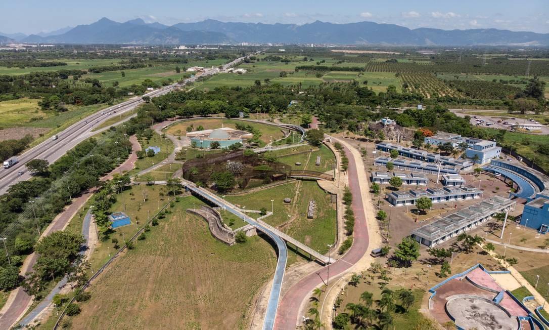 Cidade das crianças em Santa Cruz Agência O Globo