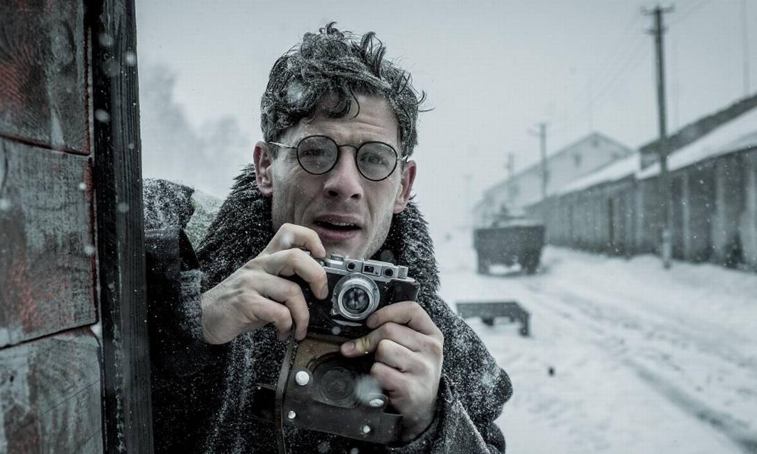 James Norton no filme 'Mr. Jones' Foto: Divulgação