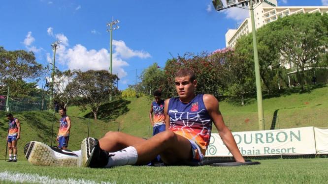 Moresche marcou gol do Vasco em jogo-treino Foto: Carlos Gregório Jr/vasco.com.br