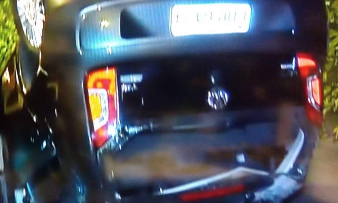 Uma pessoa morreu em um acidente com dois carros no Túnel Zuzu Angel Foto: Reprodução/ TV Globo