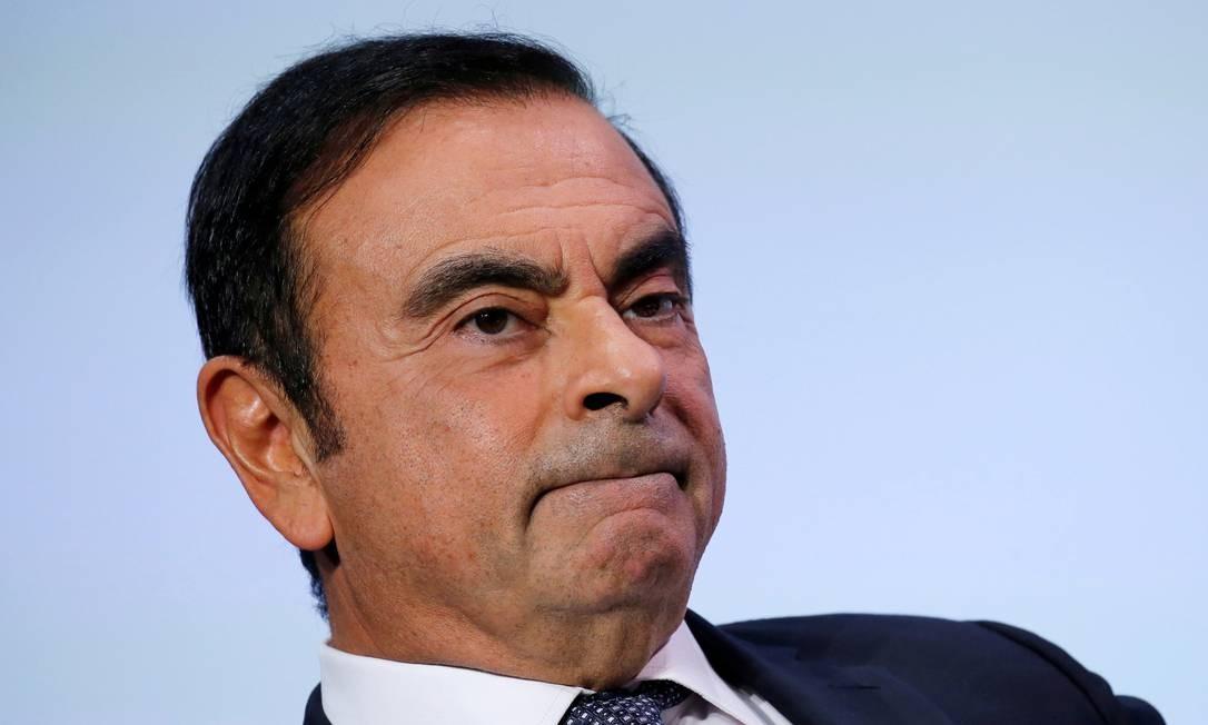 Ghosn: disparidade em relação a colegas executivos Foto: Regis Duvignau / REUTERS