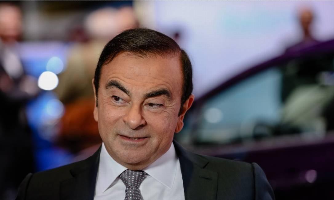 Renault mantém na presidênca o executivo Carlos Ghosn, preso desde 19 de novembro em Tóquio, por acusações de crimes financeiros Foto: Bloomberg