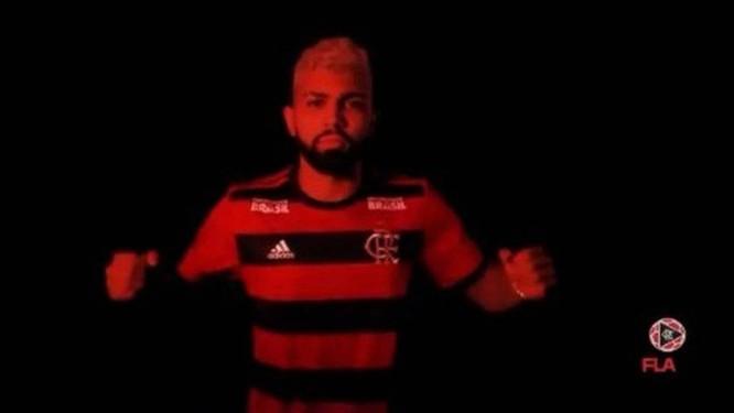 Gabigol é o segundo reforço confirmado pelo Flamengo Foto: Reprodução