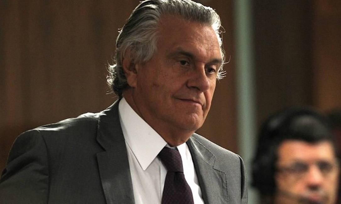O governador de Goiás, Ronaldo Caiado (DEM) Foto: Jorge William / Agência O Globo