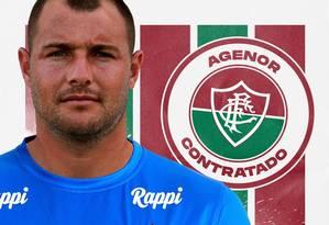 Agenor atribuiu sobrepeso a dificuldades pessoais Foto: Divulgação/Fluminense