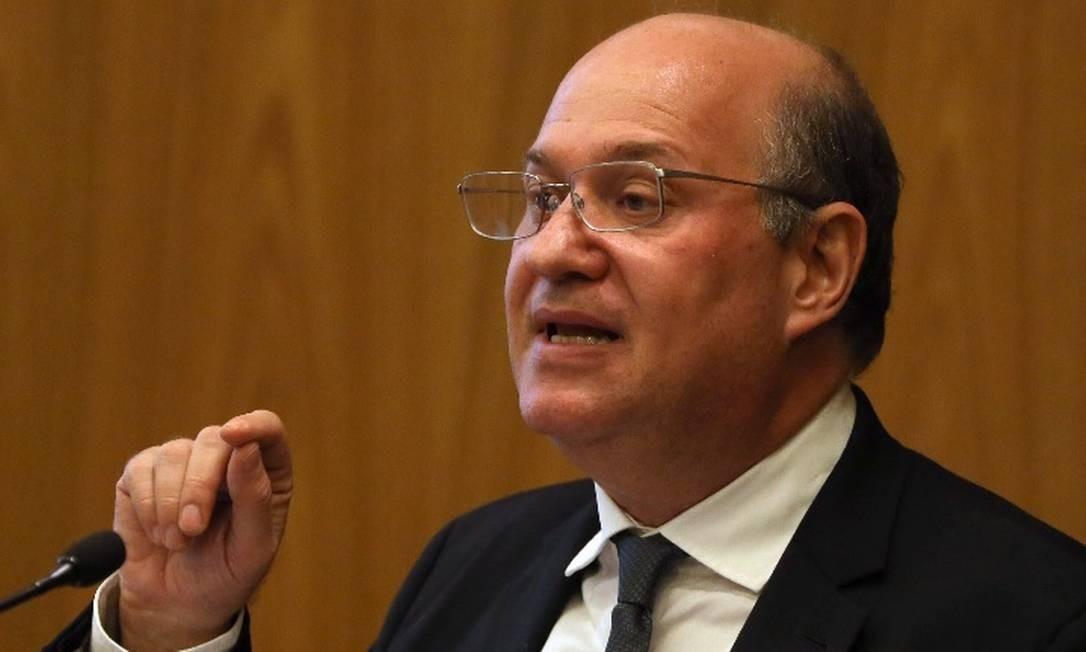 O presidente do BC, Ilan Goldfajn, abriu seminário do Rio Foto: / Givaldo Barbosa - Arquivo