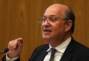 O presidente do BC, Ilan Goldfajn, abriu seminário do Rio Foto: Givaldo Barbosa - Arquivo