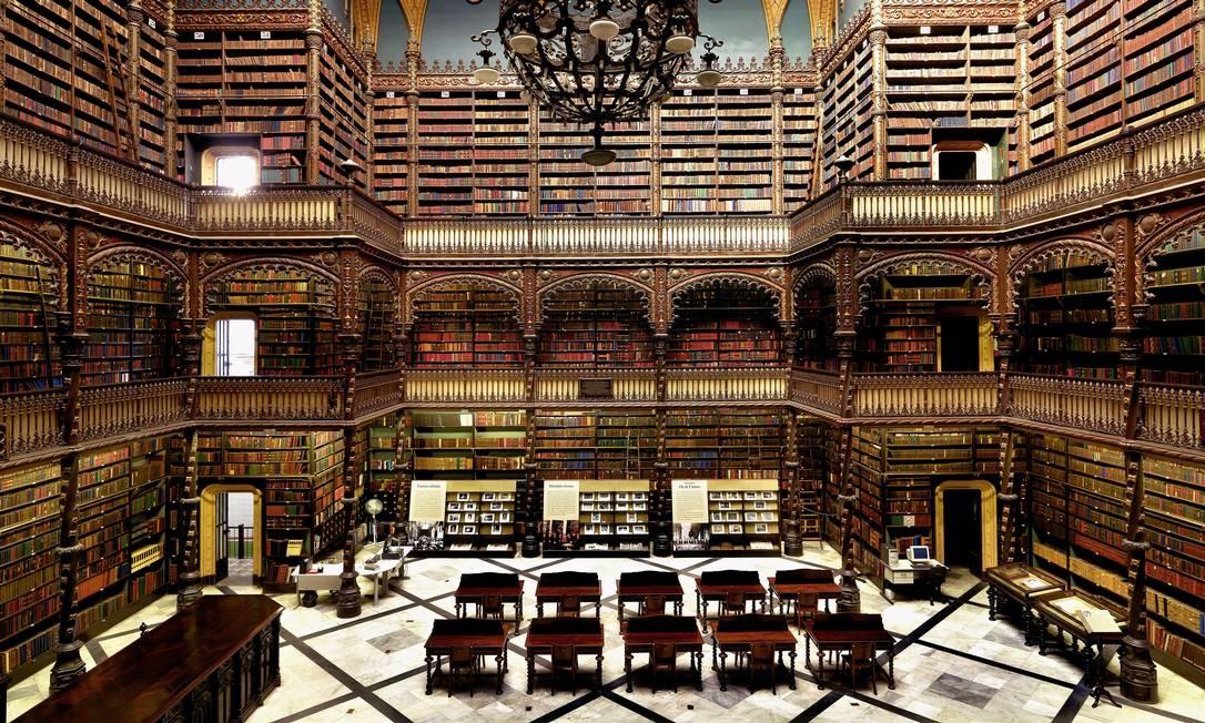 Real Gabinete Português de Leitura, Rio de Janeiro, Brasil Foto: Massimo Listri / Divulgação