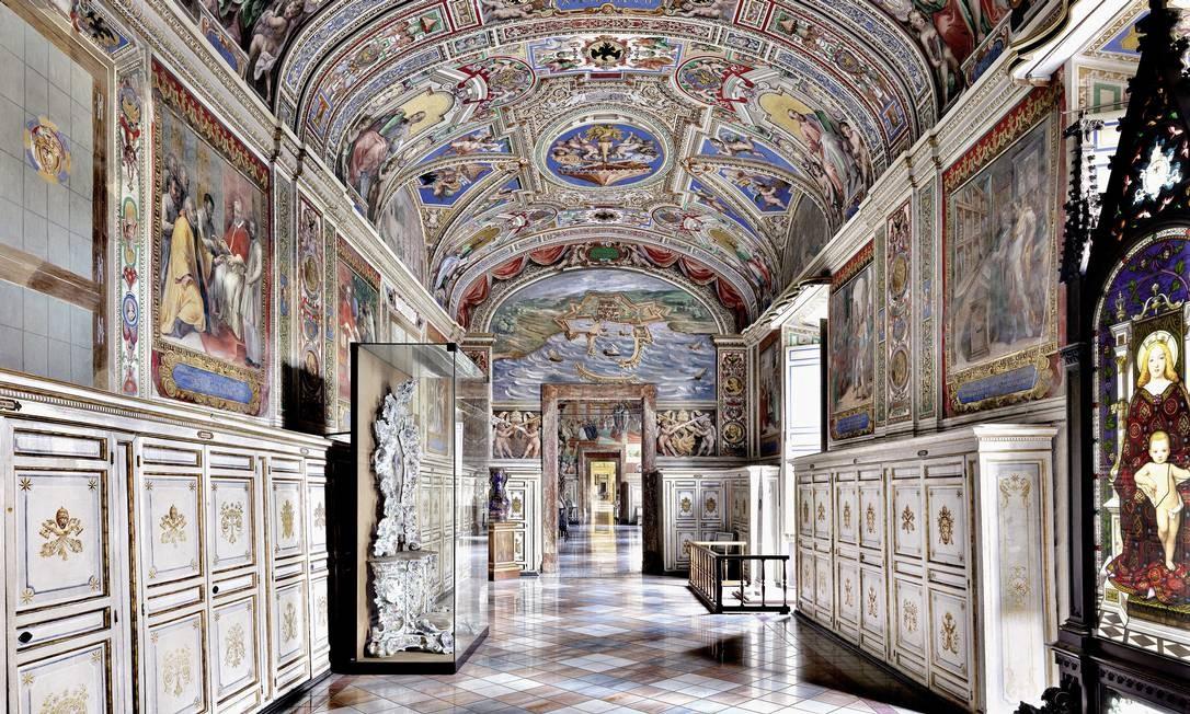 Biblioteca Apostolica Vaticana, na Cidade do Vaticano Foto: Massimo Listri / Divulgação