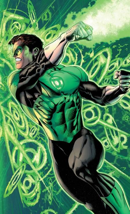 """IVAN REIS (São Paulo, 42 anos). Astro do estúdio Chiaroscuro, """"a"""" ponte Brasil-EUA, é exclusivo da DC. Criou a arte do filme """"Aquaman"""" e faz a Liga da Justiça (acima, seu Lanterna Verde) Foto: Ivan Reis / Reprodução"""