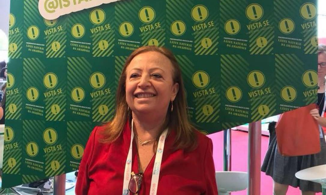 Adele Benzaken, que comandava departamento de HIV/Aids do Ministério da Saúde Foto: Reprodução/Facebook