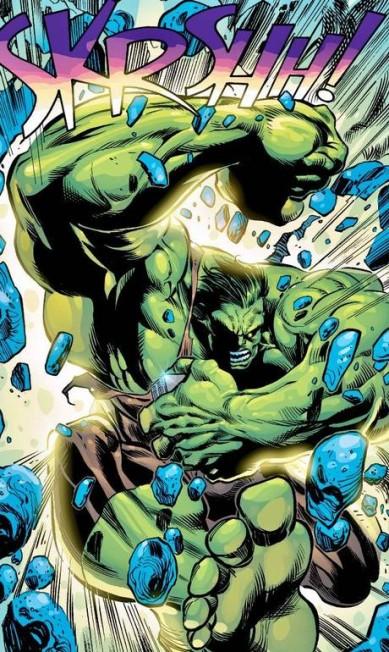"""JOE BENNETT (Pará, 50 anos). Atualmente quebrando tudo com o Hulk, um ícone da Marvel, Benedito José Nascimento já fez para a DC versão em quadrinhos da série de TV """"Arrow"""". Joe Bennett / Divulgação"""
