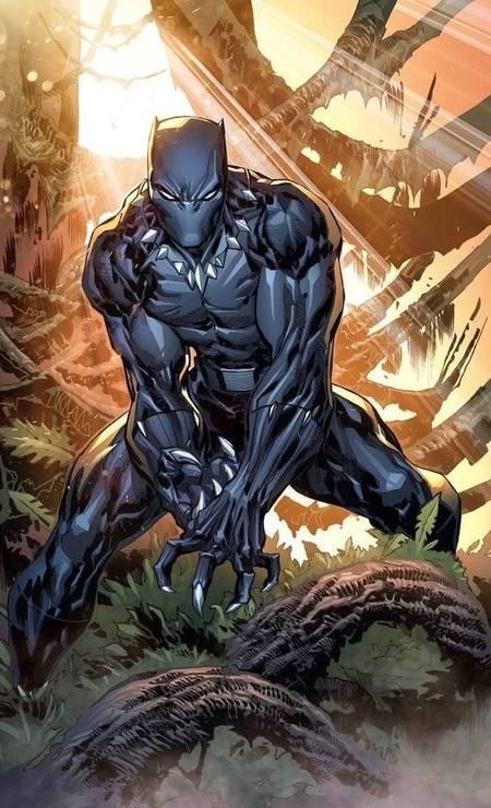JOSÉ LUIS (Ceará, 36 anos). Depois de alguns trabalhos na DC, o ilustrador estreou na rival Marvel com uma elogiada série do Pantera Negra bem quando ia sair o filme do herói. Foto: José Luis / Reprodução