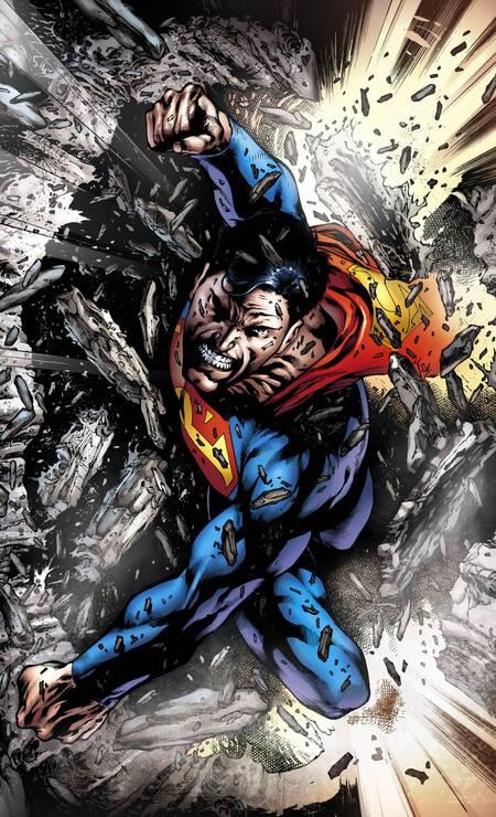 Eddie Barrows (Pará, 51 anos). Com inspirado pseudônimo gringo, Eduardo Barros tem uma longa lista de serviços prestados à DC, incluindo com o cobiçado Superman. Foto: Eddie Barrows / Reprodução
