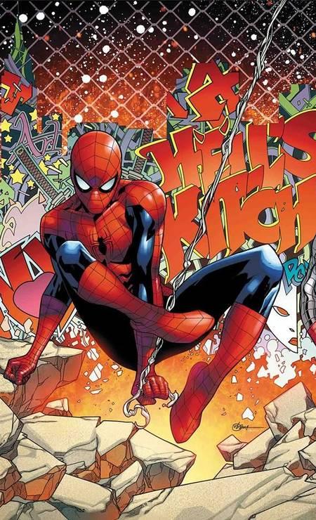 RB SILVA (São Paulo, 35 anos). Rubens Bernardino da Silva se destacou na DC fazendo Superboy e agora está na Marvel ilustrando Homem-Aranha, X-Men e outros heróis. Foto: RB Silva / Reprodução