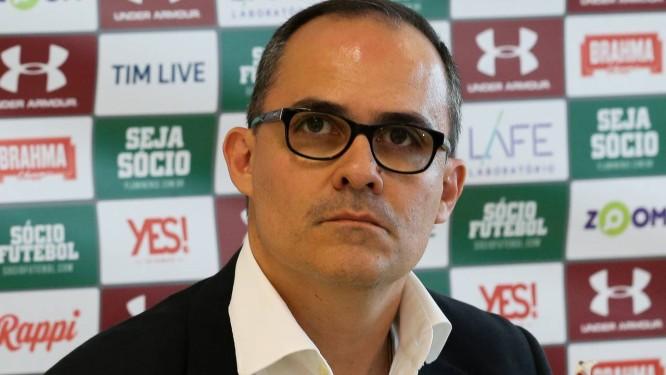 Pedro Abad vê sua proposta ser questionada na Justiça Foto: Lucas Merçon/Fluminense