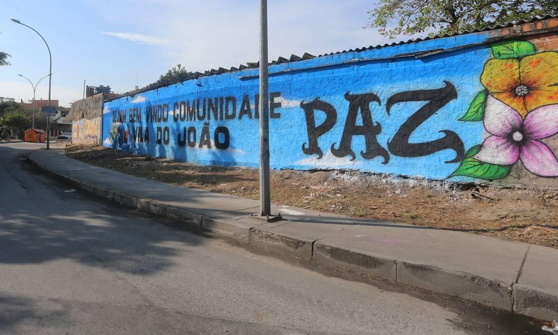 Comunidade Vila do João. Imagem de 16/08/2016 Foto: Fabiano Rocha / Fabiano Rocha