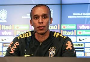 Miranda é titular da seleção brasileira Foto: Pedro Martins / MoWA Press