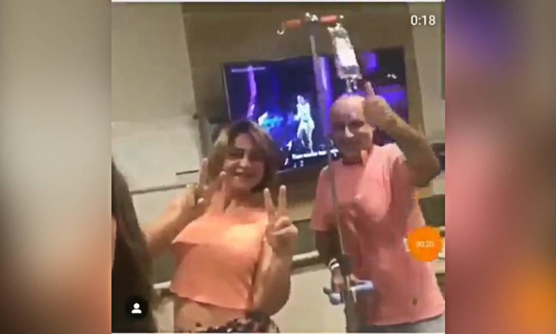 """Advogado de Queiroz diz que vídeo foi """"raro momento de descontração"""" Foto: Reprodução"""