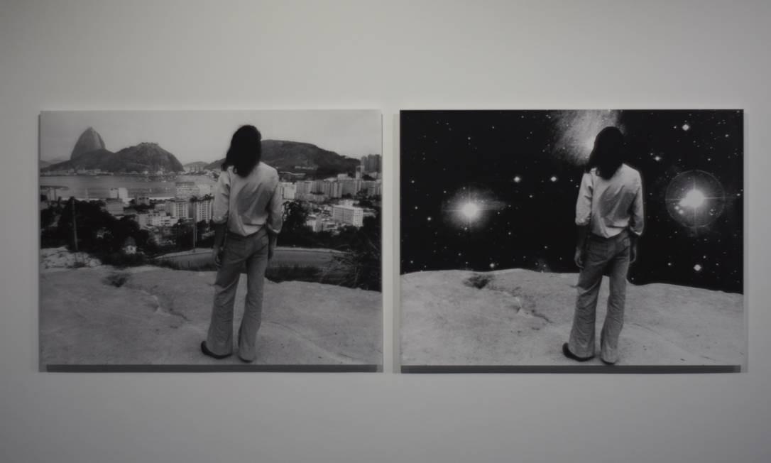 As fotografias 'Paisagem urbana' e 'entre o Cosmo e a Cosmo Polis' Foto: Divulgação