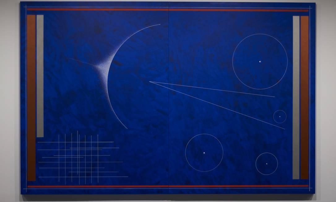 A tela 'Vôo de Kandinsky' Foto: Divulgação