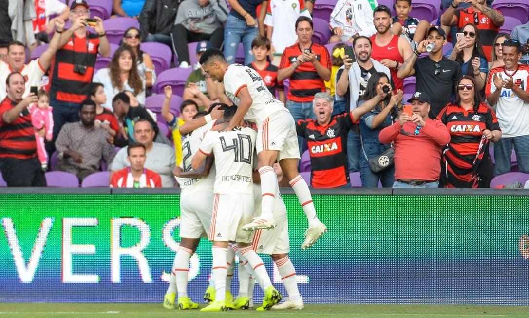 Flamengo vence o Frankfurt e leva título da Florida Cup com brilho da garotada