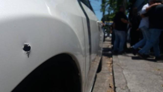 Carro da deputada estadual e delegada Martha Rocha Foto: Fabiano Rocha