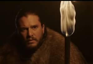 Jon Snow (Kit Harington) em novo teaser de Game of Thrones Foto: Divulgação