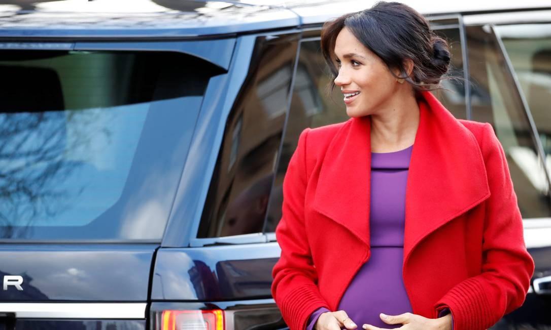 A gravidez de Meghan Markle Foto: CARL RECINE / REUTERS