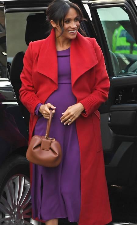 A gravidez Meghan Markle Foto: PAUL ELLIS / AFP