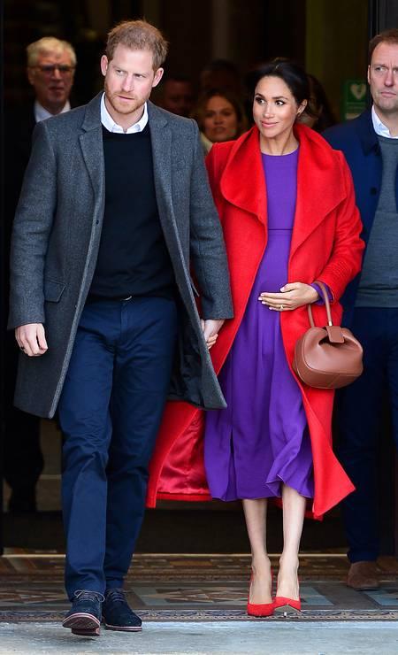 O casal real Foto: Richard Martin-Roberts / Getty Images