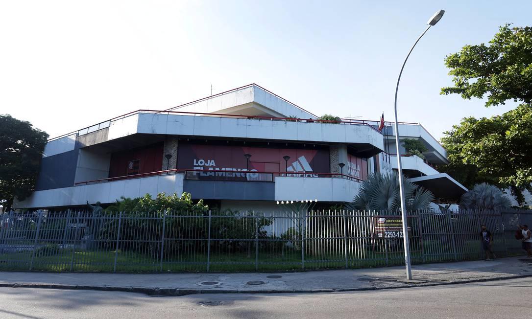 Sede do Flamengo, na Gávea: clube é marca de Alto Renome Foto: Márcio Alves