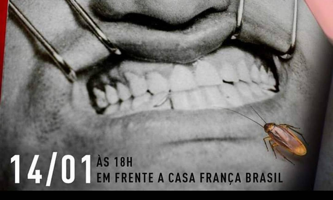 Post do coletivo És Uma Maluca convidando para a performance Foto: Divulgação