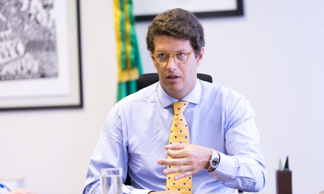 O ministro do Meio Ambiente, Ricardo Salles Foto: Divulgação / GILBERTO SOARES DE SOUSA LIMA/MMA