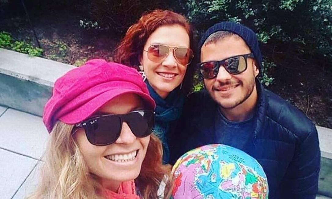Rafael Lisbôa e as amigas embarcaram em uma viagem de volta ao mundo Foto: Rafael Lisbôa/Arquivo Pessoal