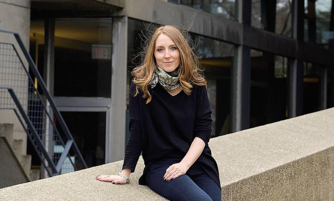 Pesquisadora de Harvard, Moira Weigel Foto: CELESTE SLOMAN
